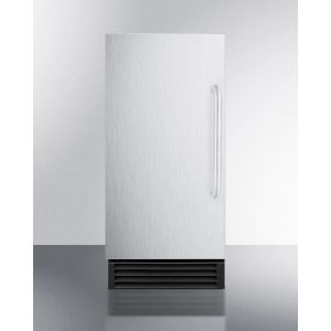 """SUMMIT BIM44G - 15"""" Wide Built-in Undercounter Nsf-listed Clear Icemaker With Automatic Defrost and Internal Pump"""