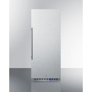 SUMMIT FFAR121SS - 10.1 CU.FT. Commercial All-refrigerator With Stainless Steel Interior and Exterior, Digital Thermostat, Lock, and Automatic Defrost Operation
