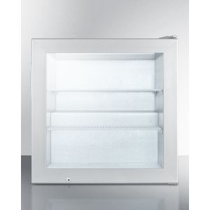 SUMMIT SCFU386CSS - Countertop Commercial Freezer With Self-closing Door and Stainless Steel Wrapped Cabinet; Replaces Fs20lcss