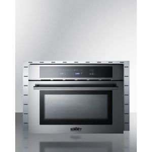 """SUMMIT TRIMKITCMV27 - Stainless Steel Trim Kit To Extend Width of Cmv24 Speed Oven To 27"""""""