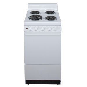 PREMIER EAK102OP - 20 in. Freestanding Electric Range in White