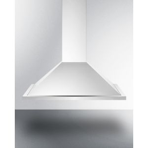 SUMMIT SEH1530CADA - 30 Inch ADA Compliant European Wall-mounted Range Hood In Stainless Steel With Remote Wall Switch