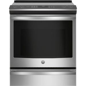 """GE PROFILE PHS930YPFS - 30"""" Slide-In Ran- Induction 5.3 Cu Ft, Induc, Glide Tch, WiFi,Airfry"""