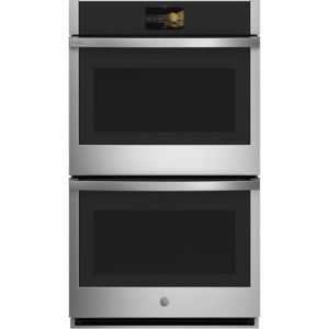 """GE PROFILE PTD9000SNSS - 30"""" Wall Ovens Double, Soft Close, In-Oven Camera"""