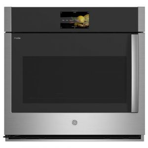 """GE PROFILE PTS700LSNSS - 30"""" Wall Ovens Single, Swing Door (L); LCD; Prec. Cook"""