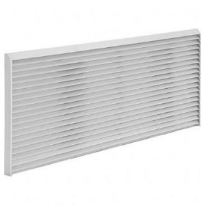 GE RAG67 - Zoneline Outdoor Grille Options - All Series Architectural Alum Outdoor Rear Grille
