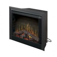"""Dimplex BF33DXP 33"""" Deluxe Built-In Electric Firebox With Logs"""
