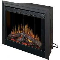 """Dimplex BF39STP 39"""" Standard Built-In Electric Firebox With Logs"""