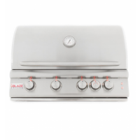 BLAZE GRILLS BLZ4LTE2LP - Blaze 32 Inch 4-Burner LTE Gas Grill With Rear Burner and Built-in Lighting System, With Fuel type - Propane