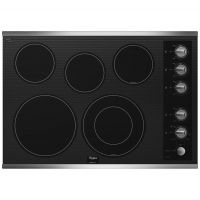 WHIRLPOOL G7CE3055XS - Gold(R) 30-inch Electric Ceramic Glass Cooktop with Five Elements