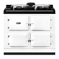 """AGA ADC3EWHT - AGA Dual Control 39"""" Electric White with Stainless Steel trim"""