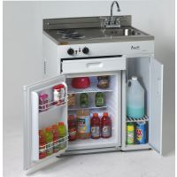 """AVANTI CK3016 - 30"""" Complete Compact Kitchen with Refrigerator"""