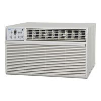MIDEA AKTW12ER52 - 12,000 BTU Arctic King Through the Wall A/C with Heater