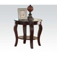 ACME FURNITURE INC 00452 - Round End Table W/gl Top @n